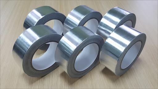 Лента-скотч с алюминиевым напылением