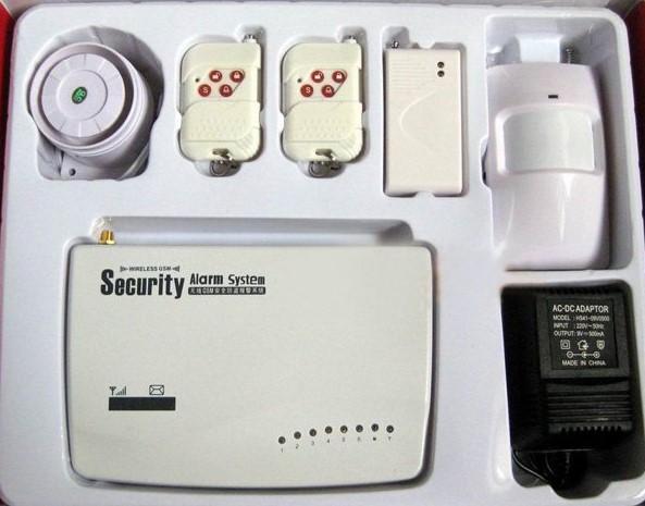 Монтаж и установка GSM сигнализации