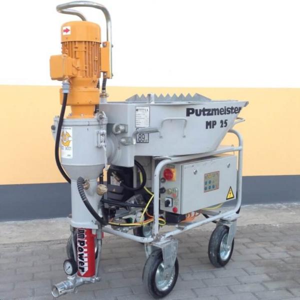 Штукатурная машина для ремонта и капитального строительства