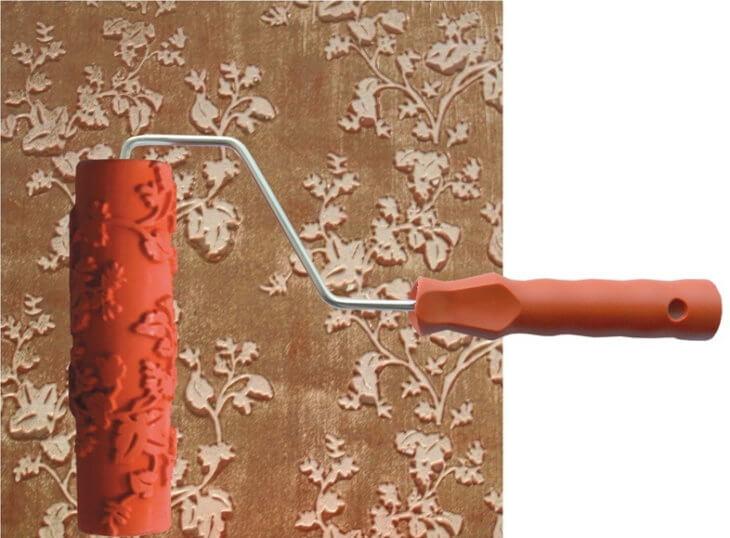Какие существуют валики для декоративной штукатурки?