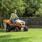 Садовые тракторы stihl