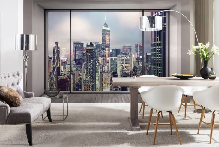 Фотообои вид из окна и всевозможные варианты их использования в интерьере