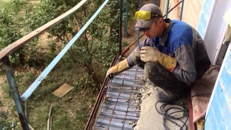 Анализ и виды ремонтов балконных плит