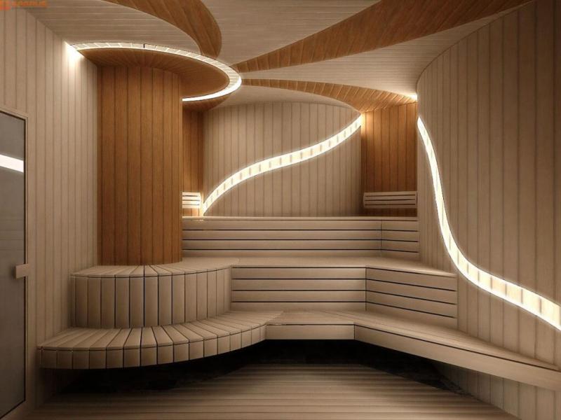 Отделка сауны: особенности дизайна