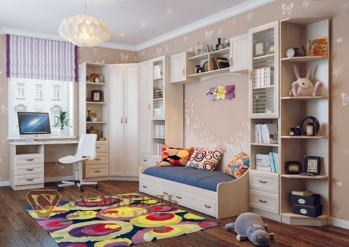 Создаем уютную комнату для одного ребенка