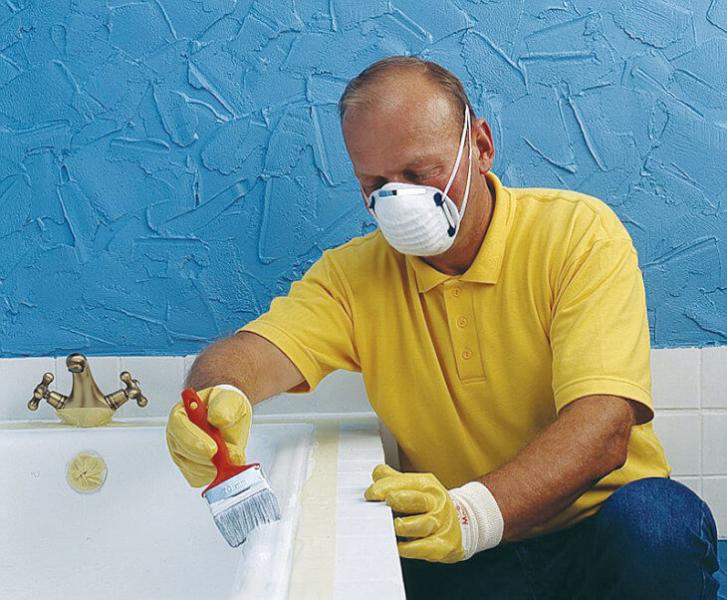 Как покрасить ванну эмалью в домашних условиях