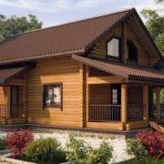 Характеристики домов и коттеджей из клееного бруса