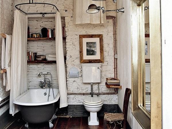 Проектируем ванную в старинном стиле