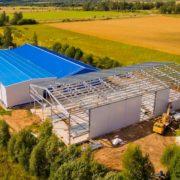 Изготовление стальных конструкций для зданий